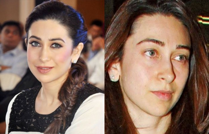 4. Karishma Kapoor without Makeup
