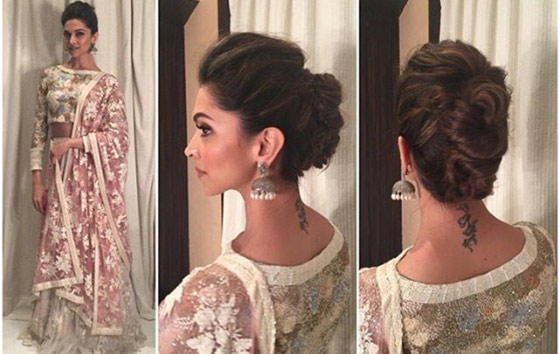 Best Indian Hairstyles You Must Try In - Side bun hairstyle indian