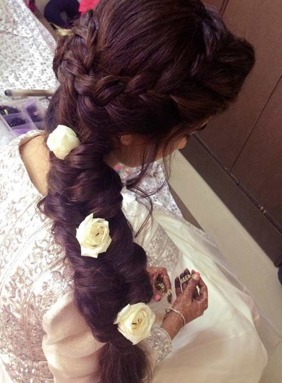 49-Floral-Mixed-Braid