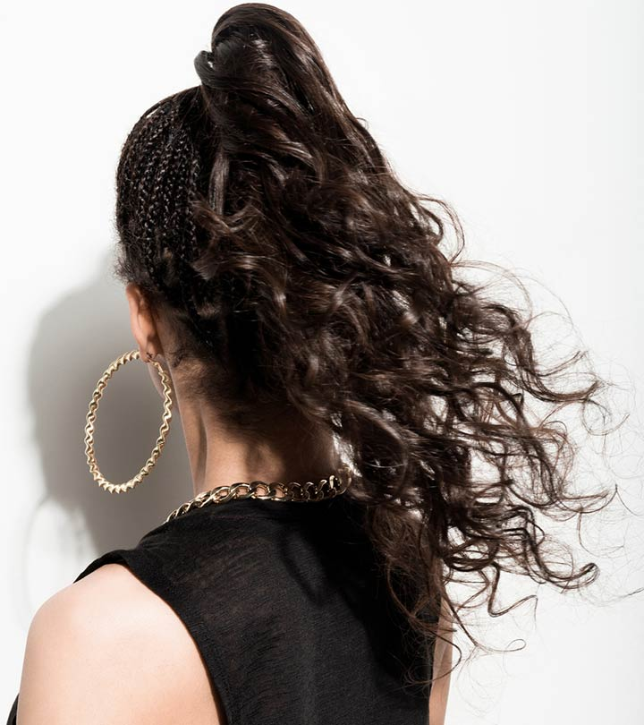5 Curly Ponytail Ideas That You Should Try