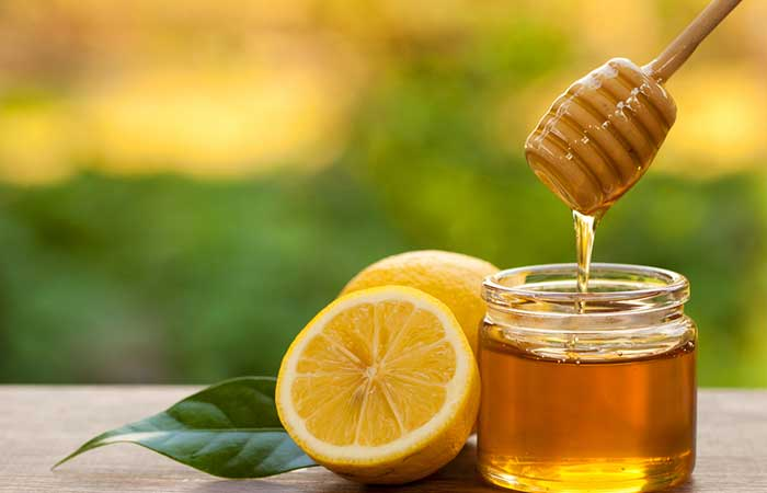 5. Honey With Lemon