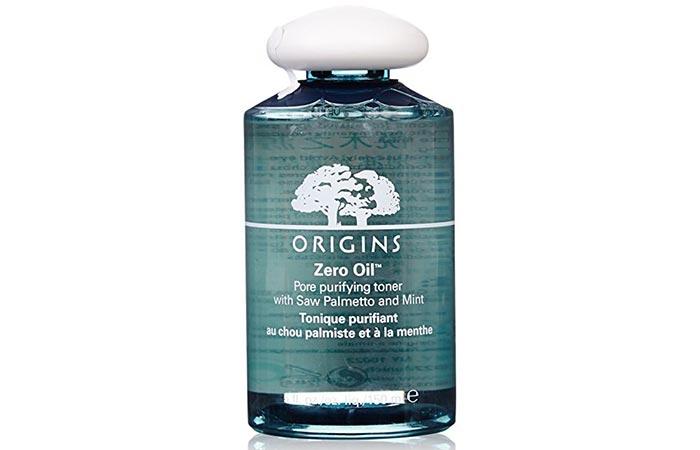 5. Origins Zero Oil Pore Purifying Toner