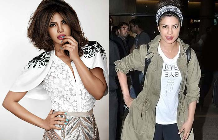 Hindi Heroines Without Makeup - 5. Priyanka Chopra
