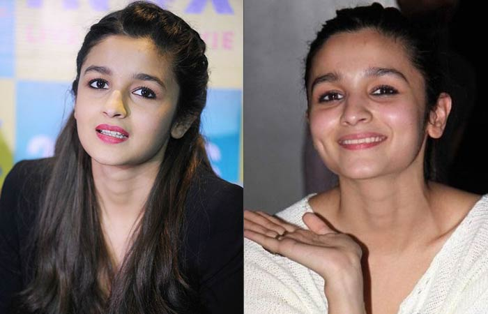 Bollywood Actress Alia Bhatt Without Makeup