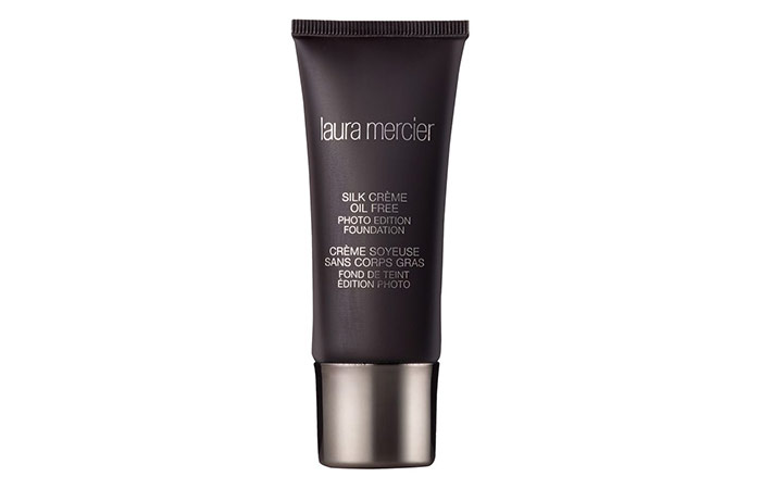7. Laura Mercier Silk Crème Oil-Free Photo Edition Foundation