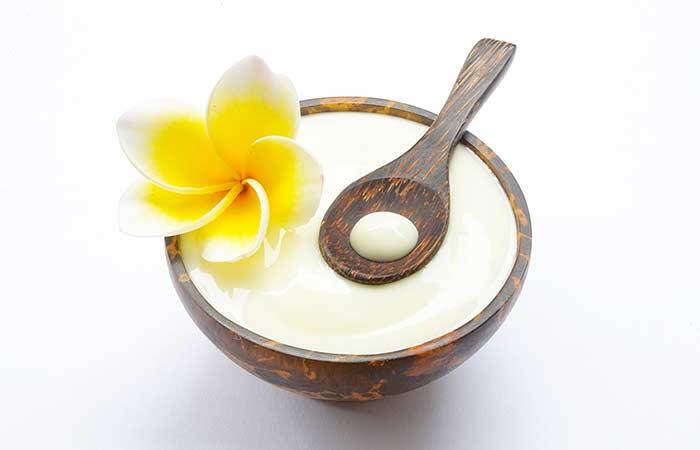 7. Yogurt Body Scrub For Glowing Skin