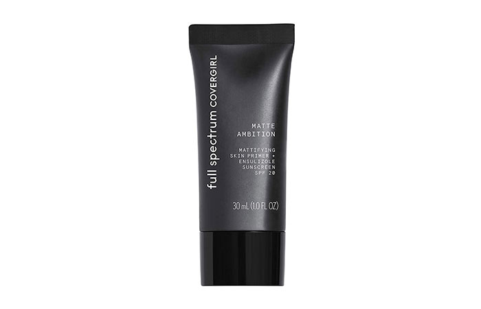 8. Covergirl Full Spectrum Matte Ambition Primer