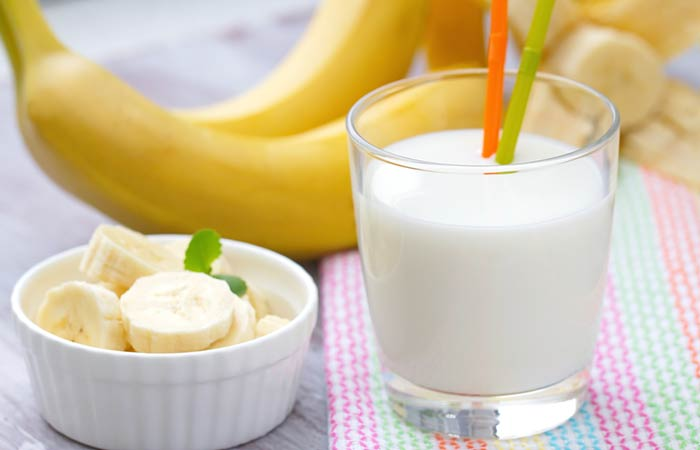 Homemade Conditioners For Curly Hair - Banana And Milk Hair Conditioner