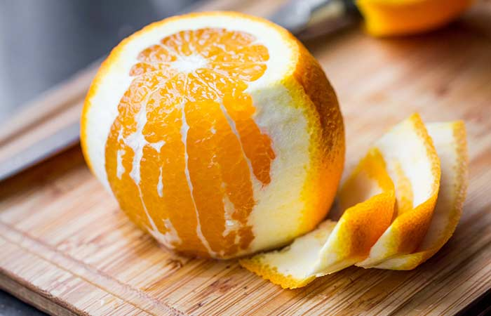 8. Orange Peel For Hyperpigmentation