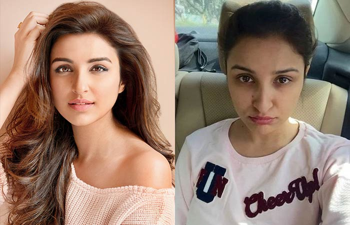 Hindi Heroine Parineeti Chopra Without Makeup