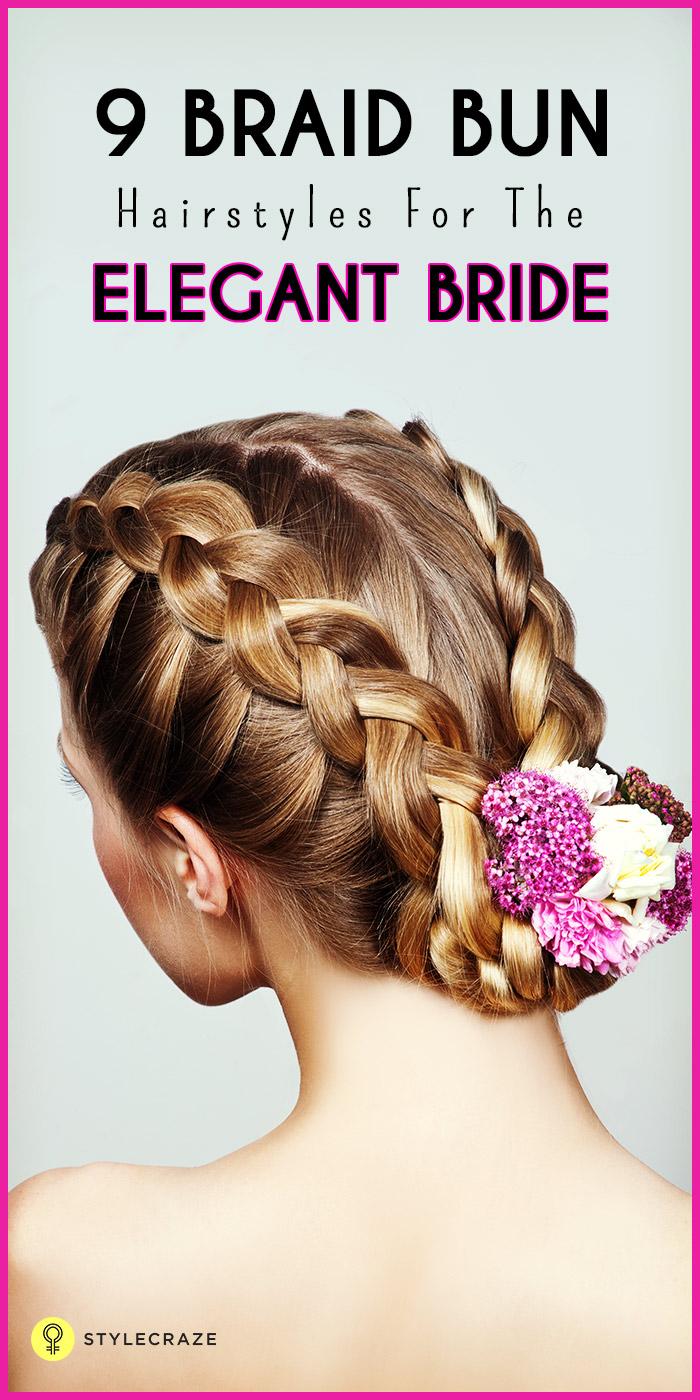 9 braid buns to try this wedding season