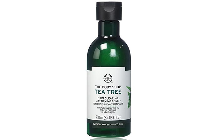 9. The Body Shop Tea Tree Skin Clearing Toner