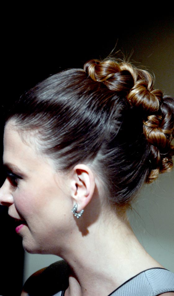 Three Ponies Braid Bun