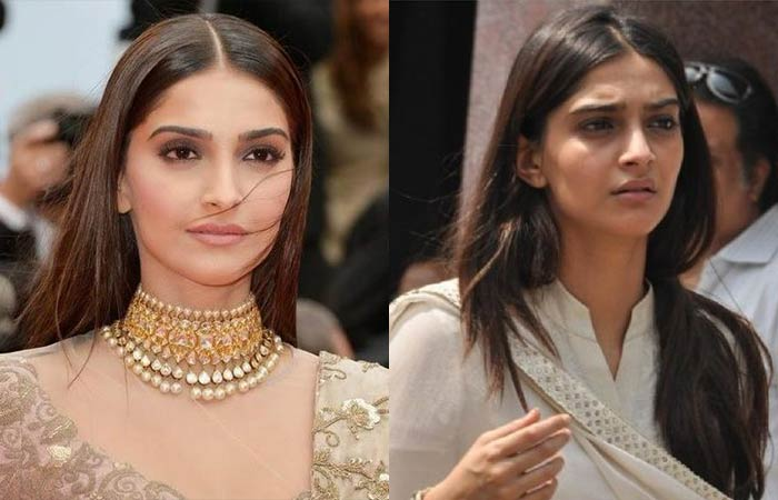 Bollywood Beauty Sonam Kapoor Without Makeup