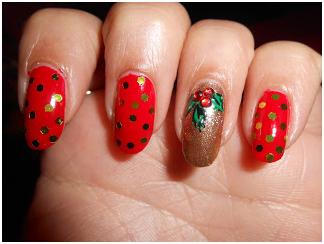 Holy Leaf Nails