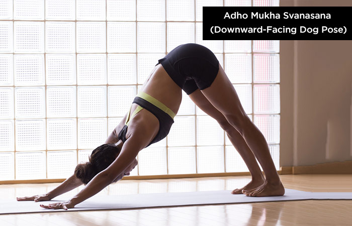 Downward Facing Dog Pose - Yoga To Protect Your Hair