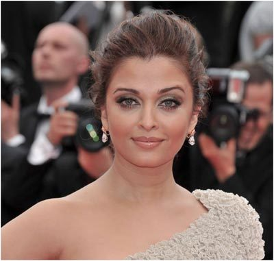 aishwarya with makeup