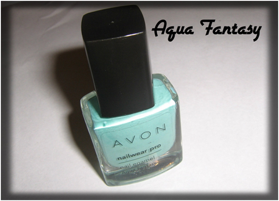 Aqua fantasy for nail