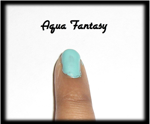 Aqua fantasy for nail1