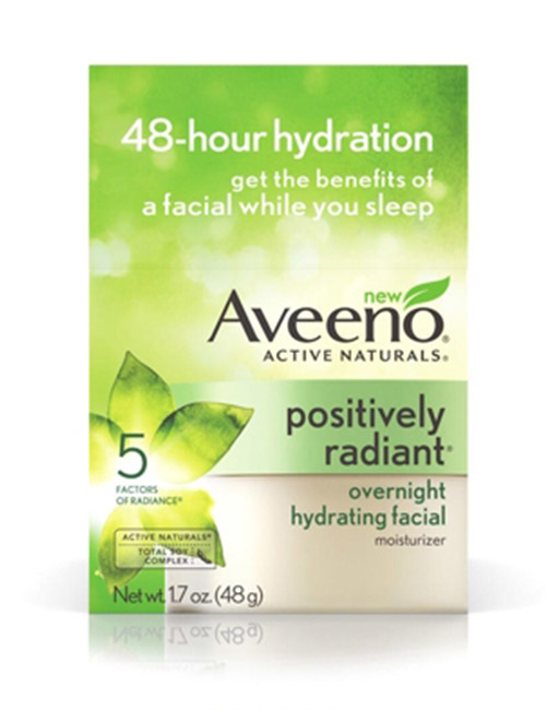 Aveeno Overnight Hydrating Facial Moisturizer - Best Skin Care Products