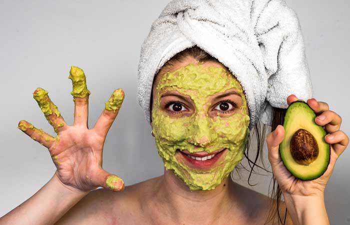 Avocado Pulp Face Mask