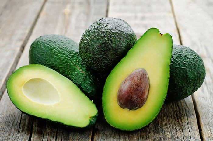 Avocados for skin