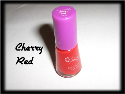 Cherry red for nail