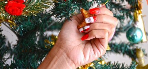 Christmas Nail Art Tutorials