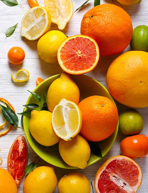 Citrus – Grapefruit, Lemon, And Limes