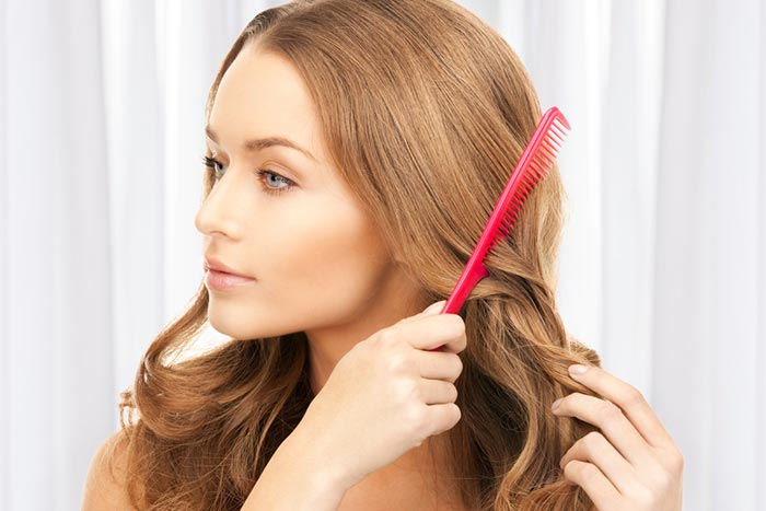 Tips For Silky Hair - Combing Hair