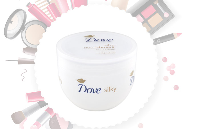 Dove Silky Nourishment Body Cream