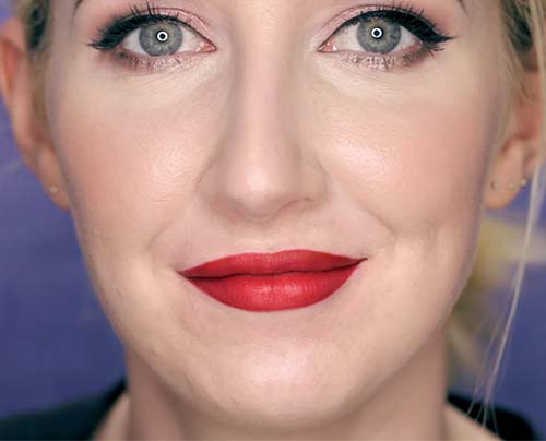 The Final Look - How To Wear Red Lipstick