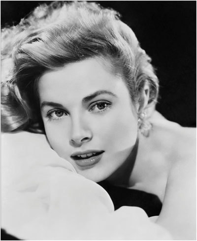 grace kelly style eyebrows