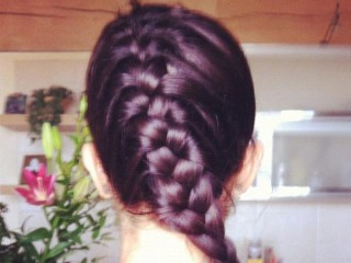 fish tail braid hair style