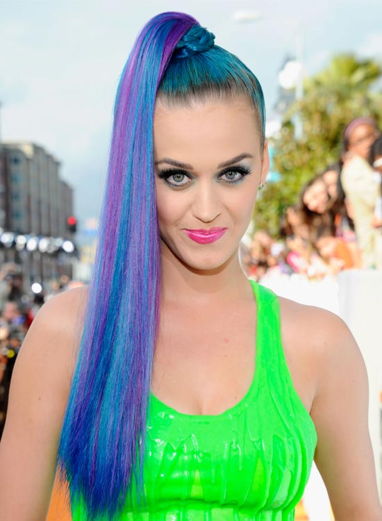 High-Blue-n-Purple-Braided-Ponytail-on-Cobalt-Blue-Hair