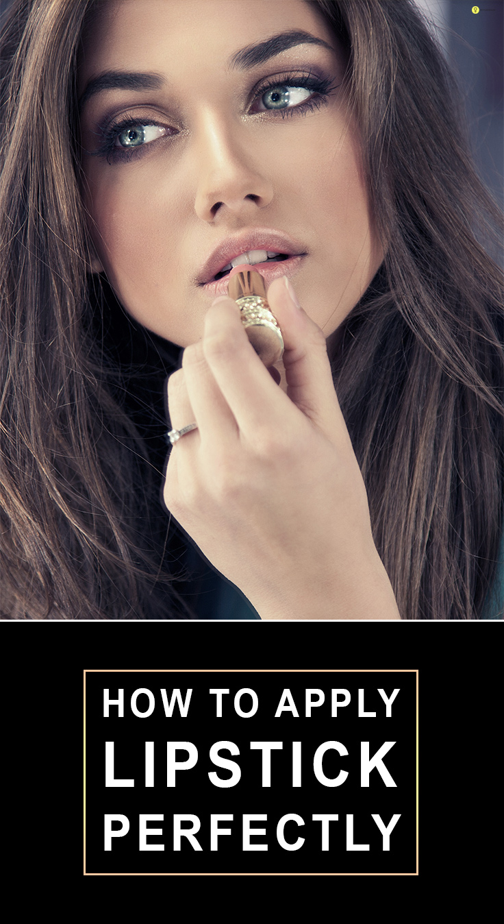 How To Apply Lipstick Perfectly Like A Pro?