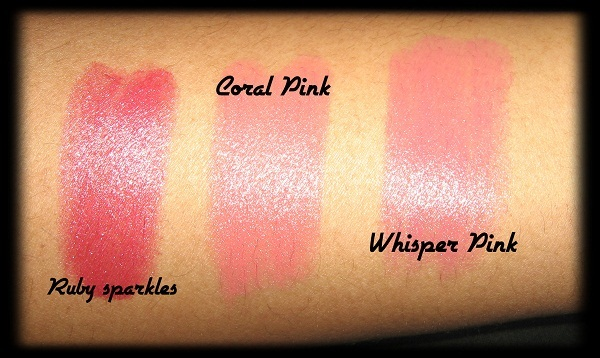 Avon Simply Pretty Lipstick Swatches 5