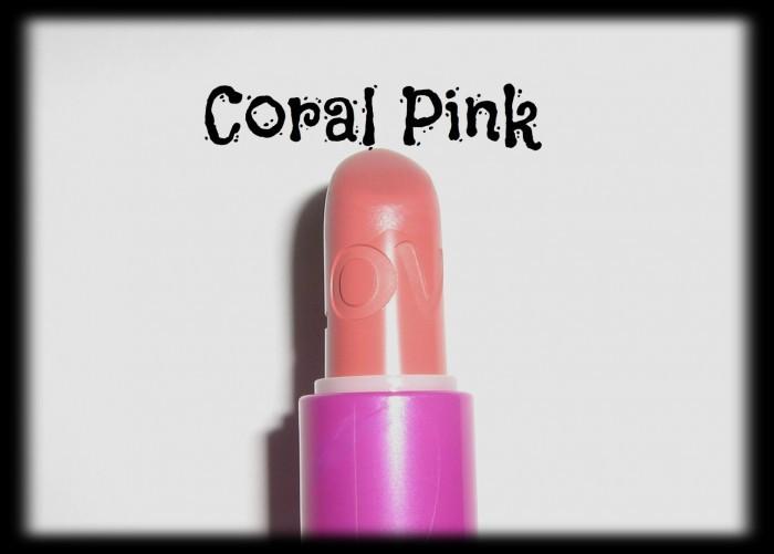 avon simply pretty Coral Pink lipstick