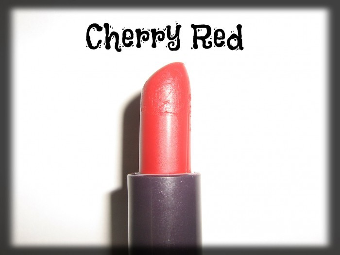 avon simply pretty Cherry Red lipstick