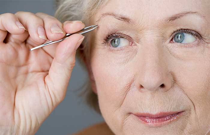 Makeup Tips For Women Over 50 - Maintain Your Brows