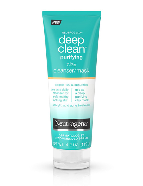Neutrogena Clay Cleanser and Mask - Best Skin Care Products