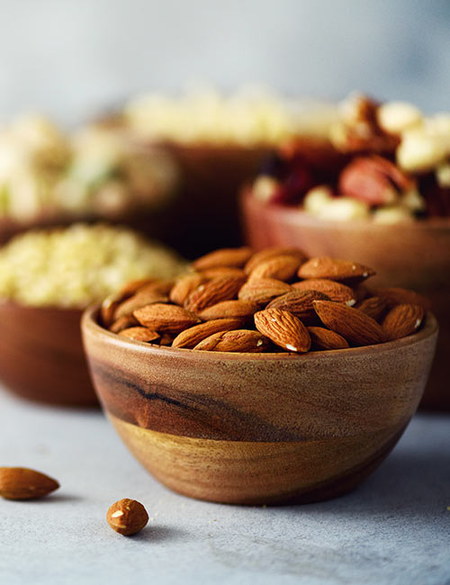 Nuts – Almonds And Pistachios