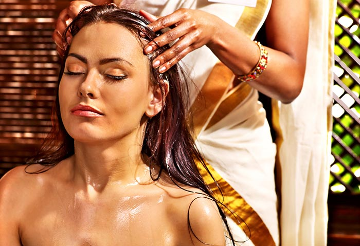 Silky Hair Tips - Oil Massage To Make Hair Silky