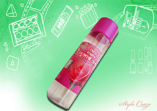 patanjali rose water