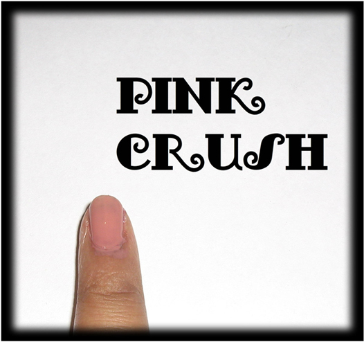 Pink crush nail art2