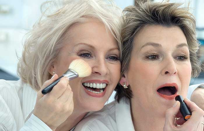 Makeup Tips For Women Over 50 - Plump Up Your Lips