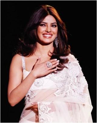 priyanka choprar with makeup