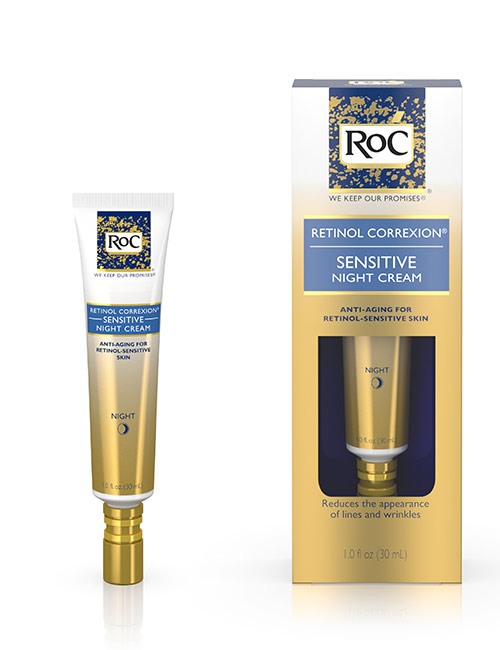 RoC Retinol Correxion Sensitive Night Cream - Best Skin Care Products