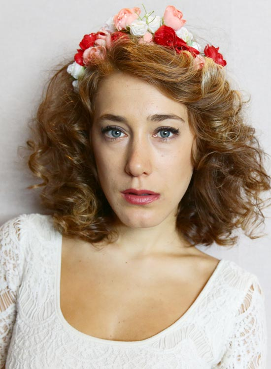 Side-Parted-Curly-Bob-with-Floral-Headband