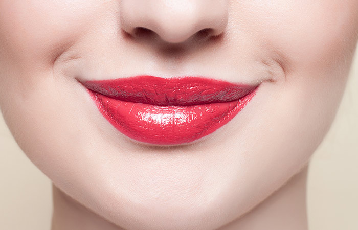 How To Apply Red Lipstick - Step 2: Sweep Lip Gloss